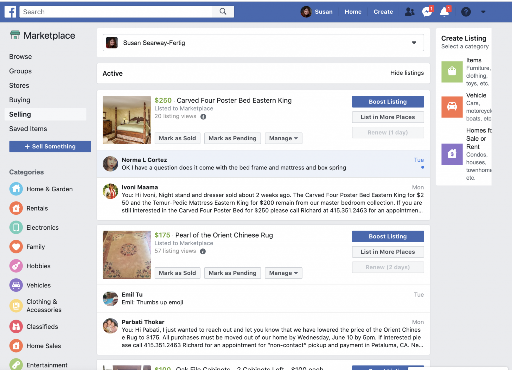 Social Media Product For Sale Posts | FaceBook Marketplace