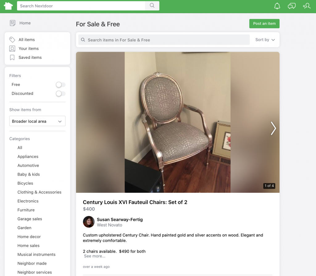 Social Media Product For Sale Posts | Nextdoor