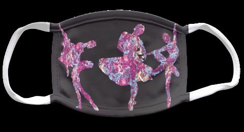 Persona Purple Art Mask