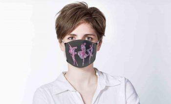 Purple Persona Art Mask