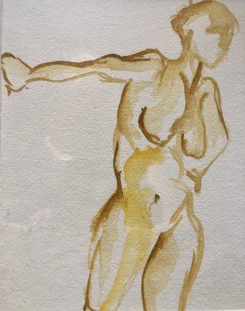 Watercolor Persona by Susan Searway-Fertig